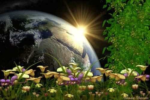 День Земли Анимация Анимированные Картинки