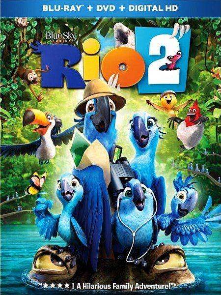 ��� 2 / Rio 2 (2014) BD-Remux + BDRip 1080p [2D,3D] + 720p + HDRip