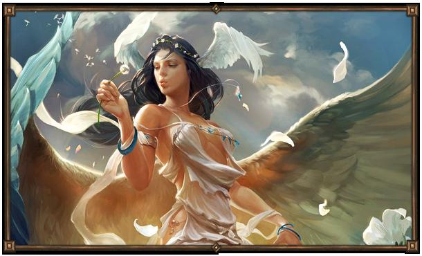 Айлей. Висанти - богиня Воздуха. Покровительница путешественников