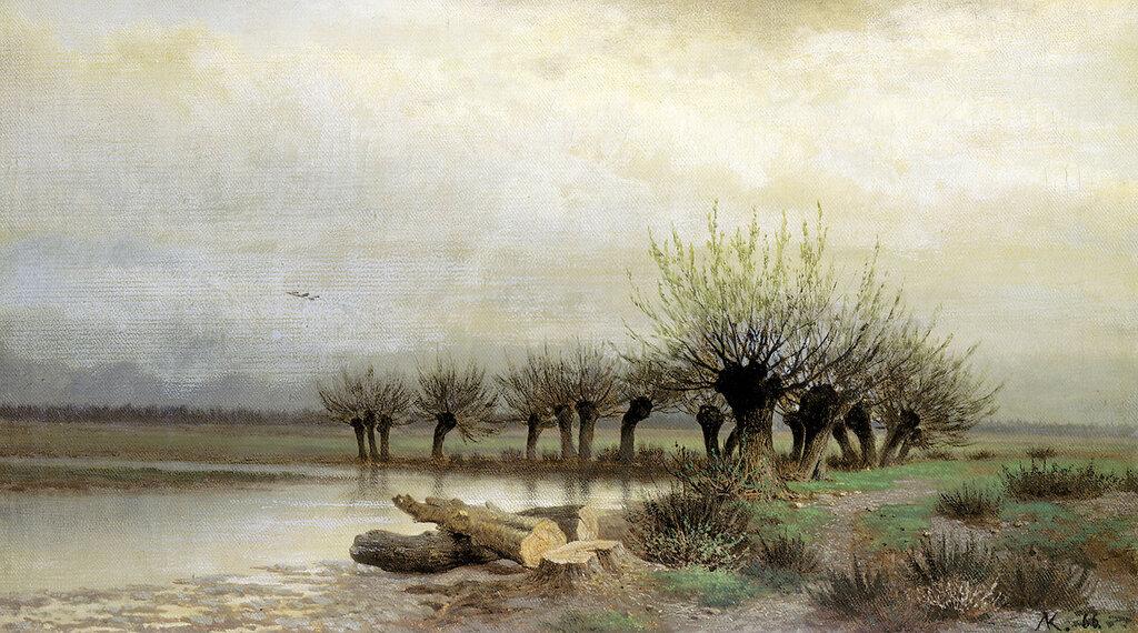 Весна. 1866. Холст, масло. 34х59 см.jpg