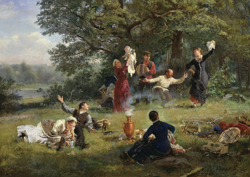 Воскресный день. 1884, холст, масло.jpg