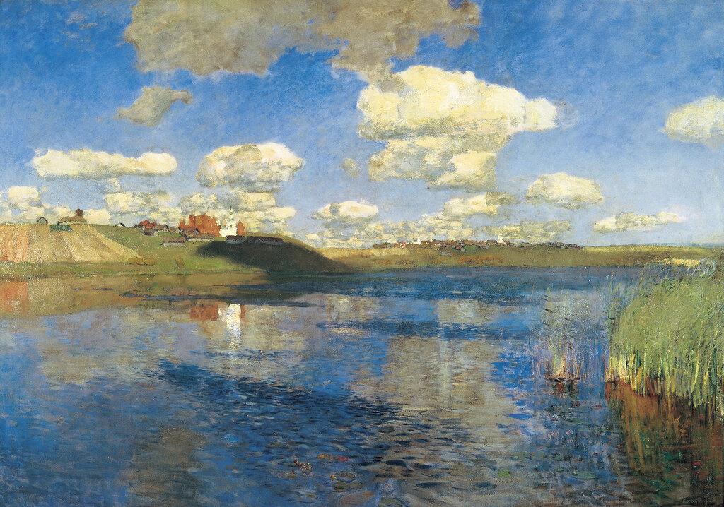 Озеро. Русь. 1899-1900, холст, масло, 149х208 см.JPG