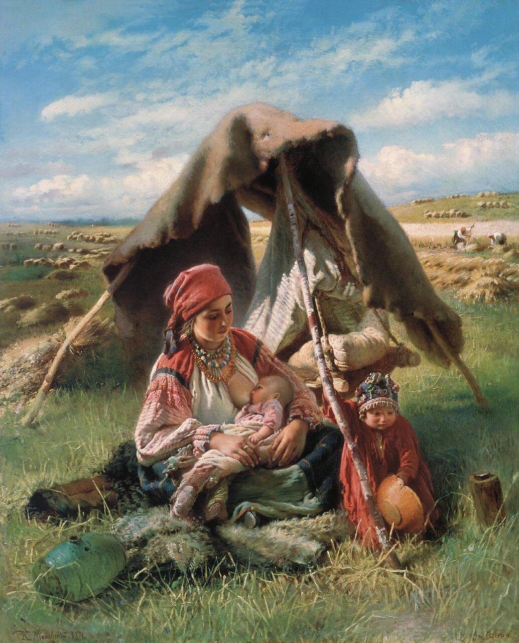 Жница. 1871. Холст, масло.jpg