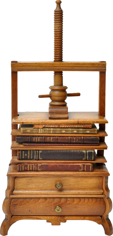 dkerkhof - libby the librarian - antique book press.png