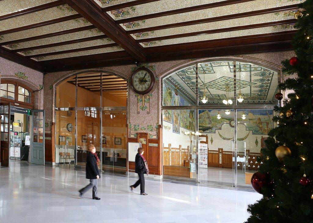 Валенсия. Северный вокзал. Estación del Norte. Valencia