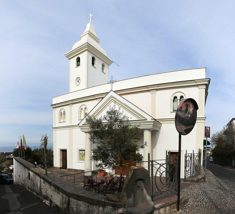 Искья. Церковь Святого Антонио Абате (Parrocchia di S. Antonio Abate)