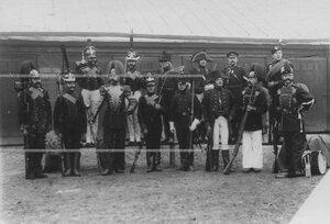 Образцы исторических форм полка.