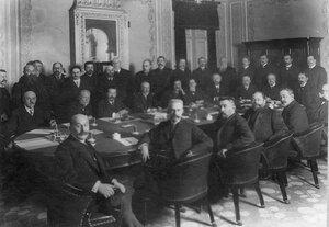 Заседание совета Русского для внешней торговли банка.