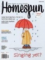 Журнал Homespun №142 (March 2015)
