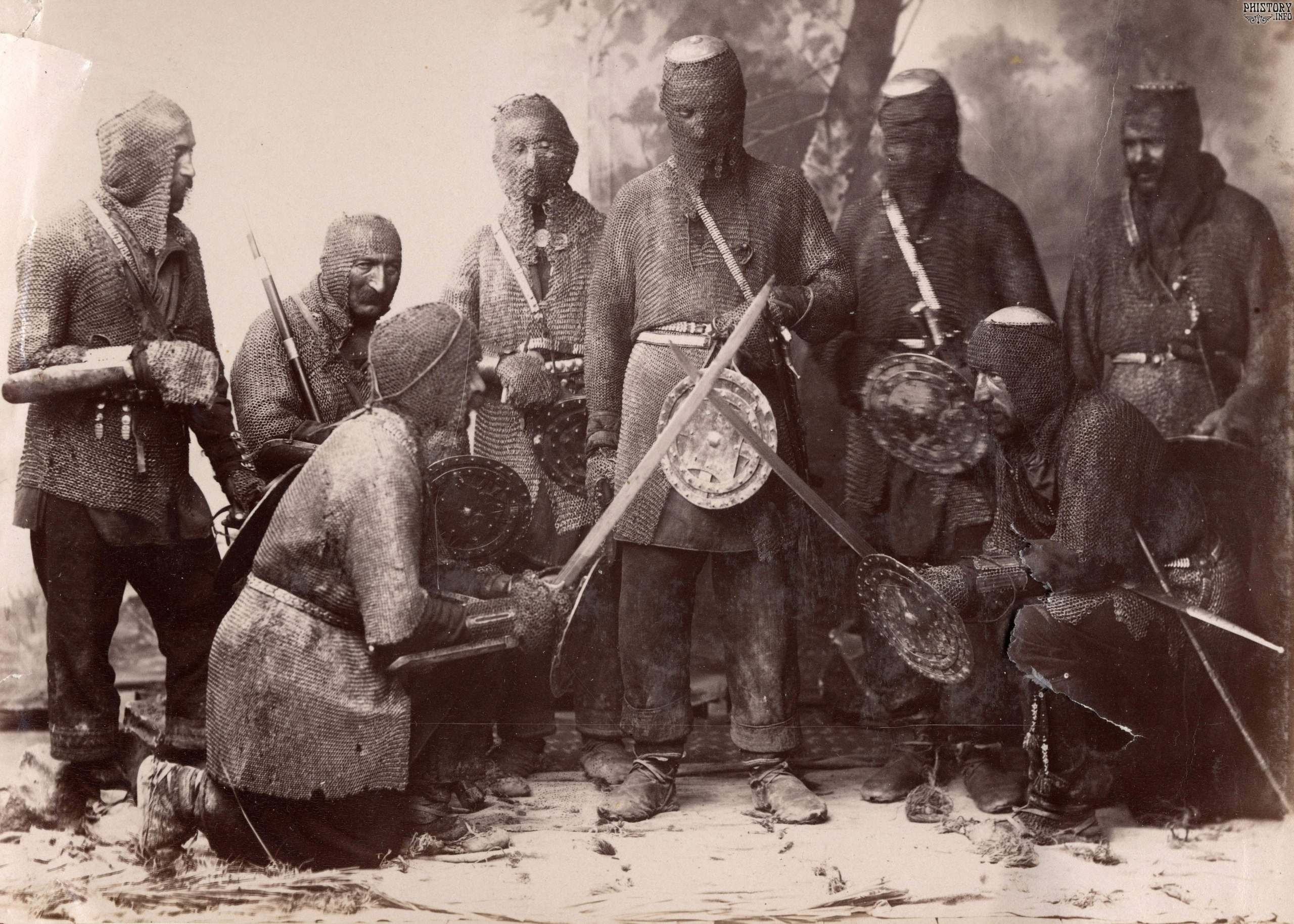 Хевсуры - воины кавказских гор