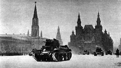 Оборона Москвы / Фотохроника