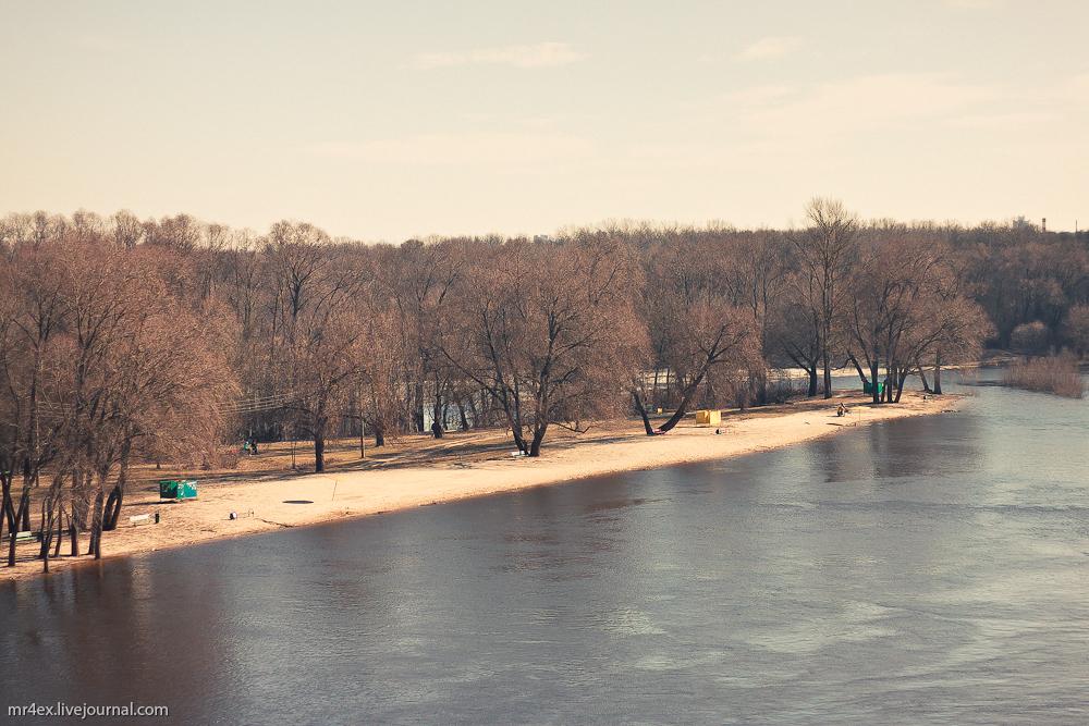 Гомель, река Сож