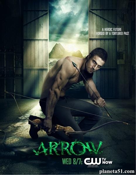 Стрела / Arrow - Полный 1 сезон [2012-2013, WEB-DLRip | WEB-DL 720p] (LostFilm)