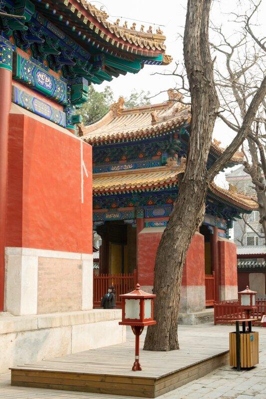 Павильоны каменных табличек, Храм Конфуция, Пекин