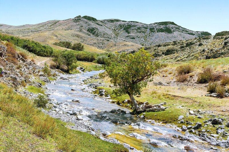 По реке Жылаганата
