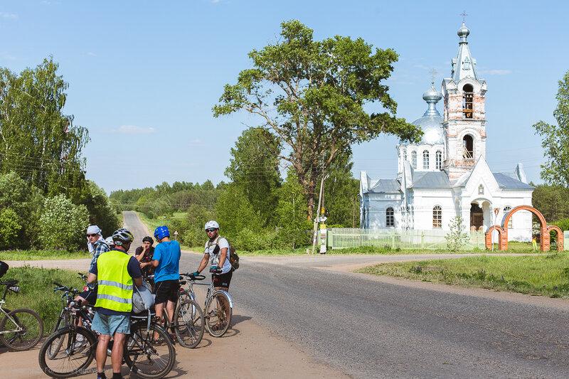 На велосипедах в Рай