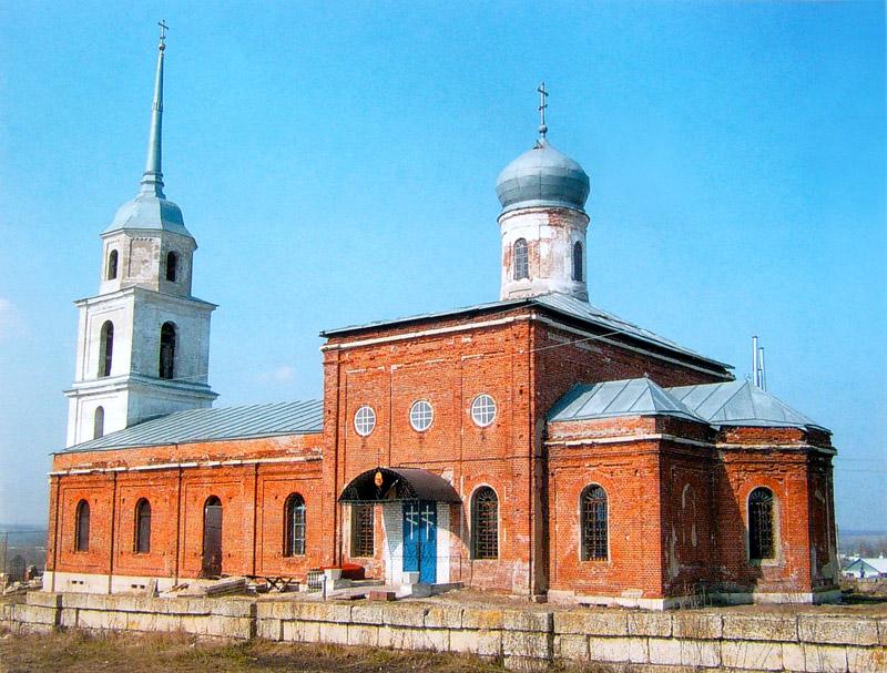 Вознесенская церковь в Ольшанце