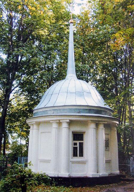 Часовня на Казанском кладбище в Ельце