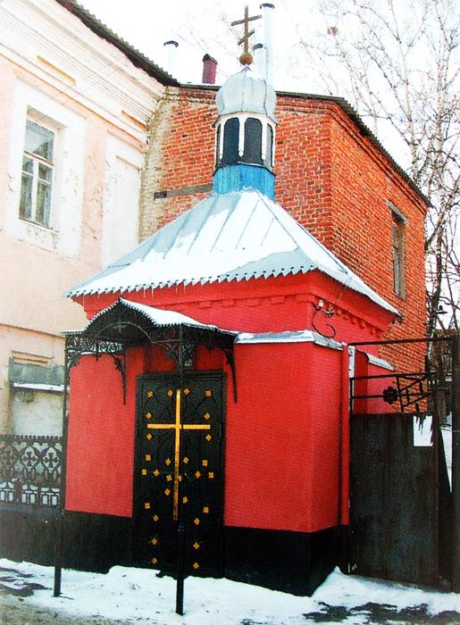 Часовня у «главных городских ворот» Ельца