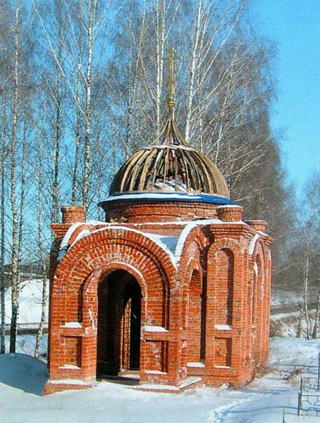 Часовня на новом городском кладбище