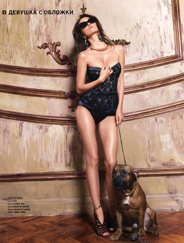 Актриса и певица Лера Кондра в журнале Playboy Россия, май 2014