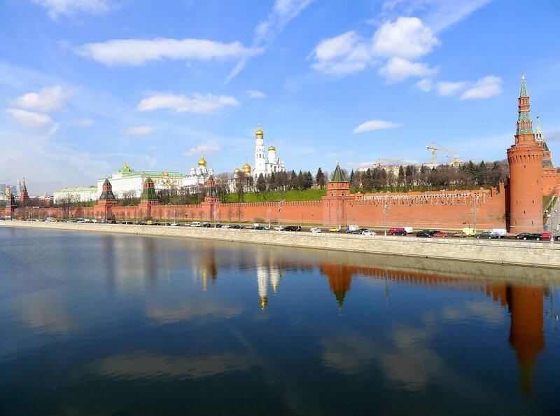 Москва. Апрель