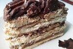 Торт без выпечки «Кофе с шоколадом»