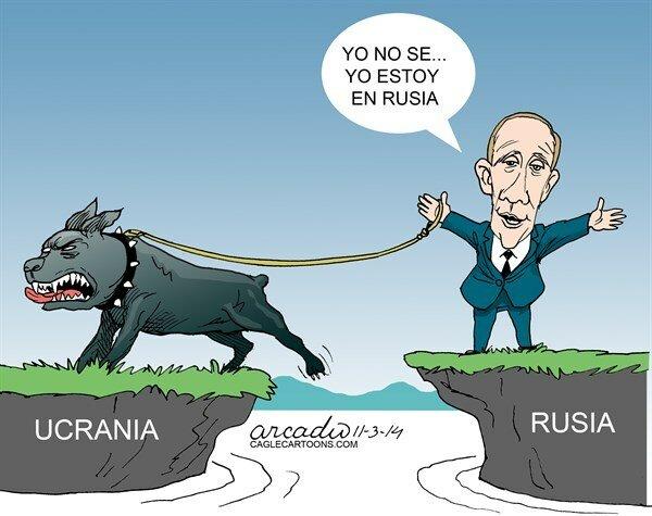 Según Putin todavía en Rusia — La Prensa, Panama © Arcadio Esquivel