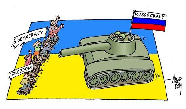 Russocracy © Arend van Dam