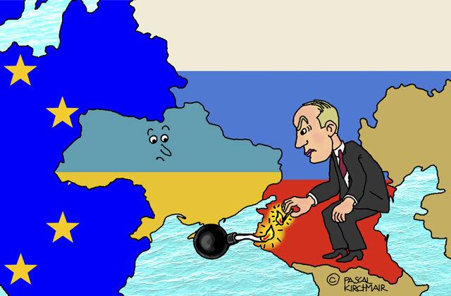 Putin der Zündler © Pascal Kirchmair