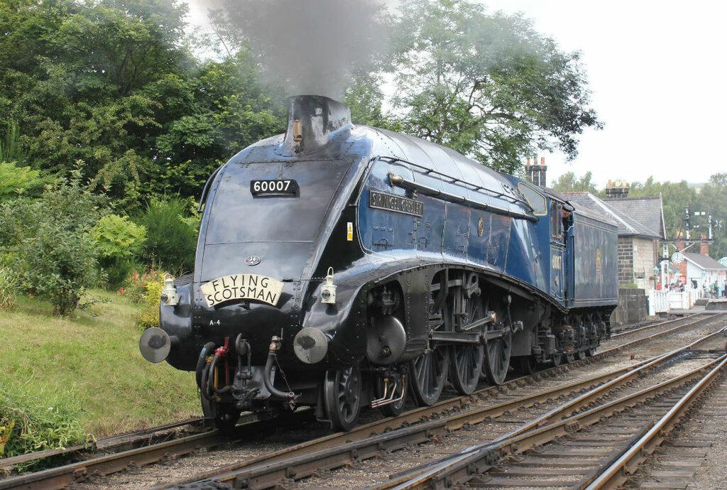 Паровоз LNER Class A4