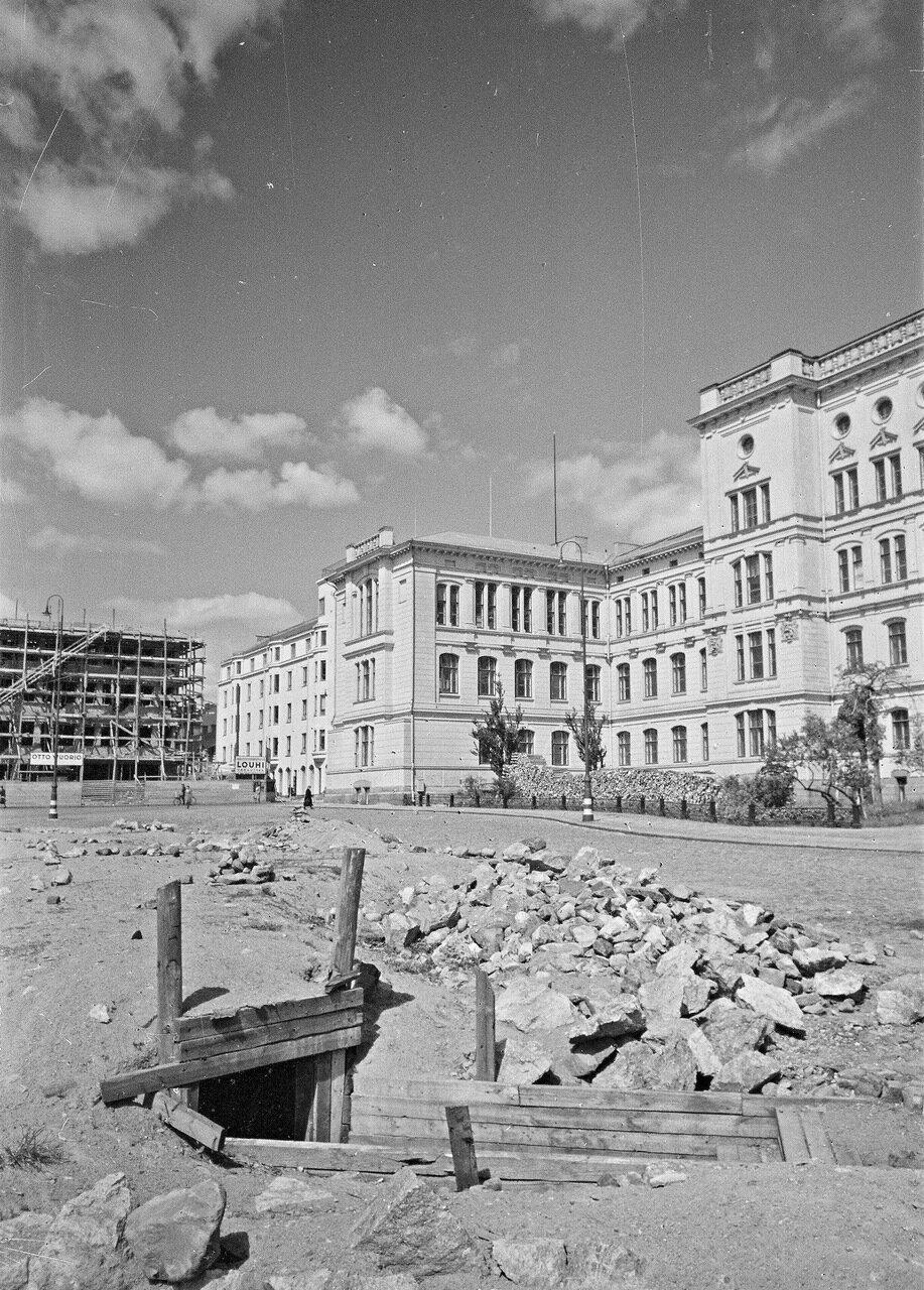 1941. 20 июня. Хельсинкский технологический университет