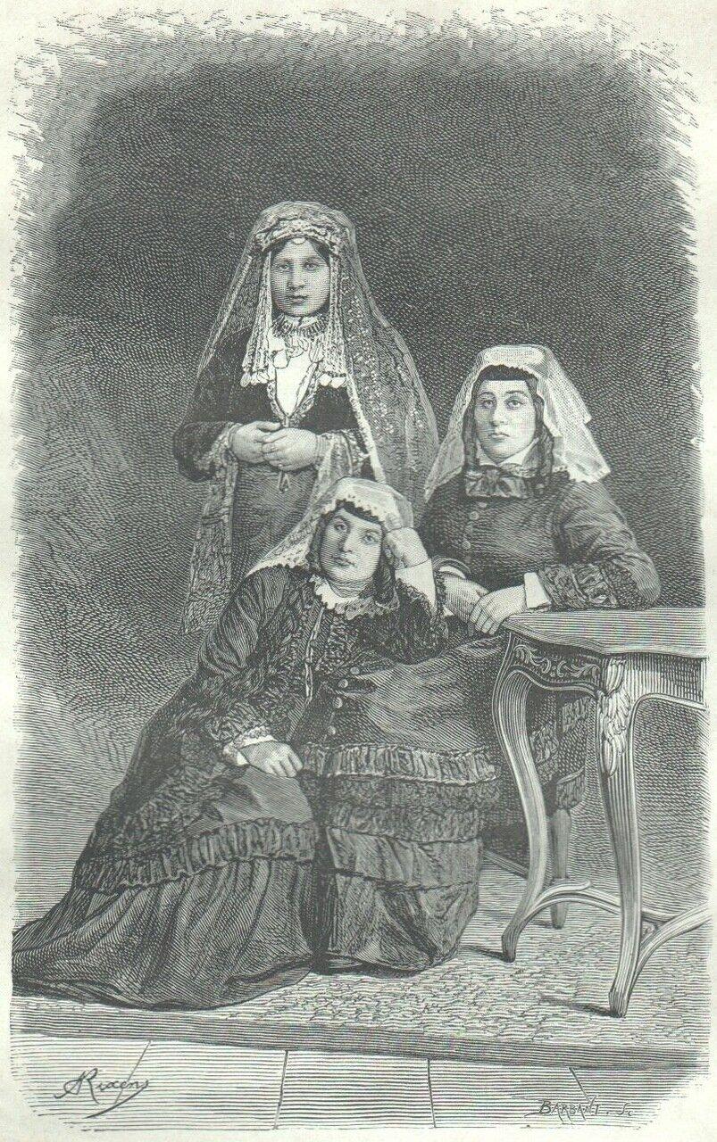 1878. Грузинские девушки
