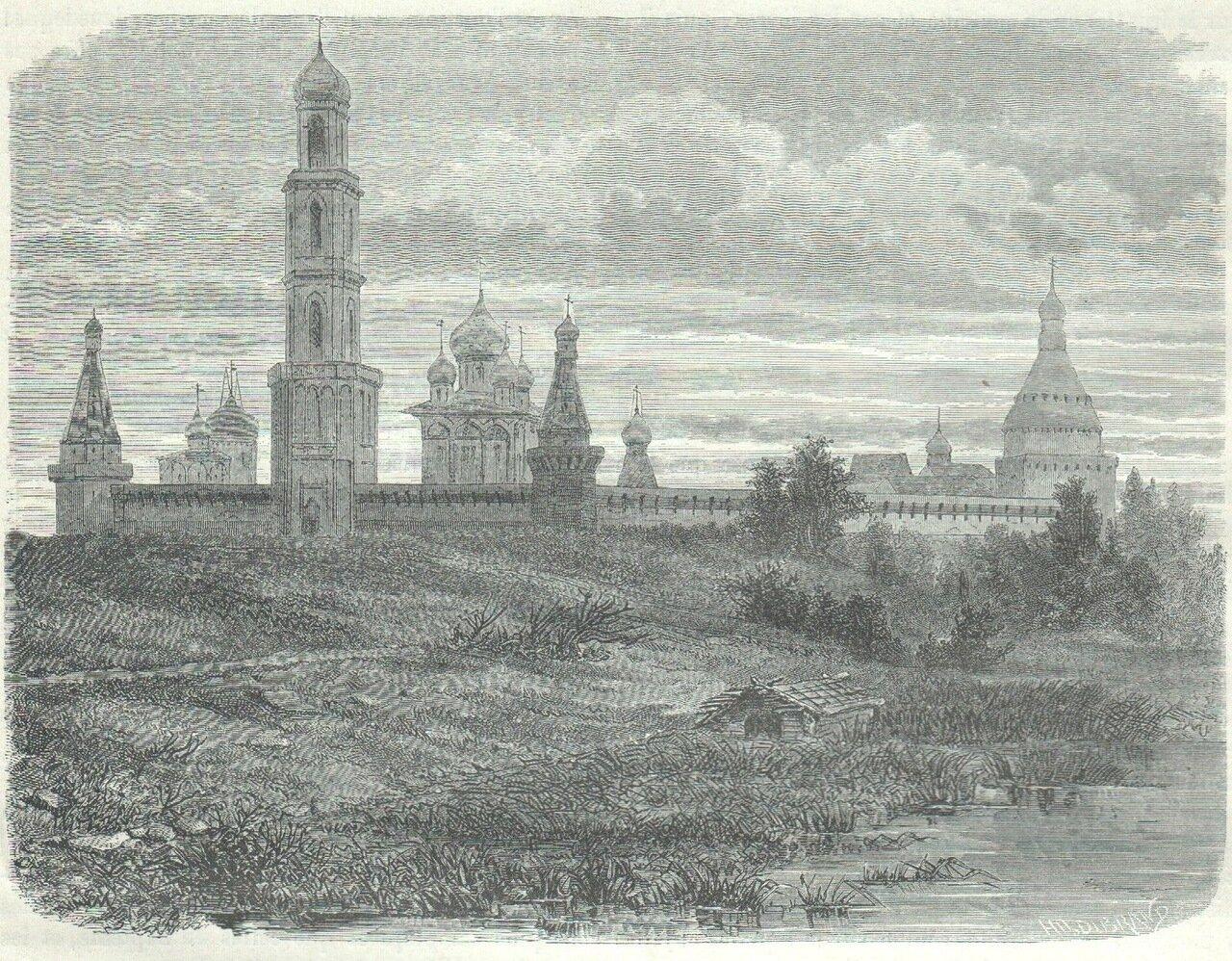 1872. Москва. Симонов монастырь