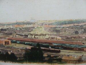 1. Смоленск. Вид на станцию и город.
