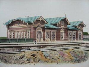 6. Здание буфета при станции II класса Минск