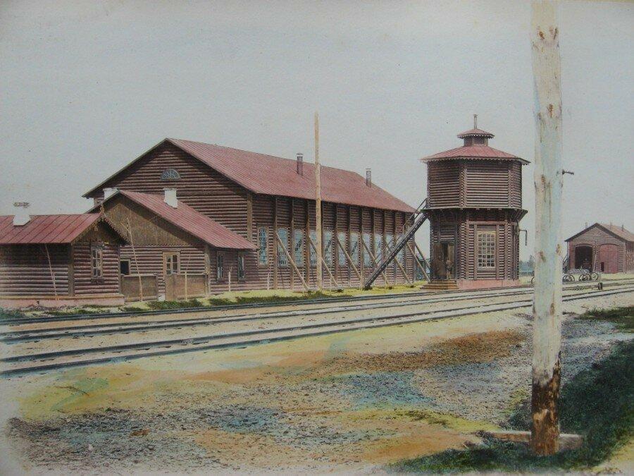13. Станция Брест. Паровозное здание