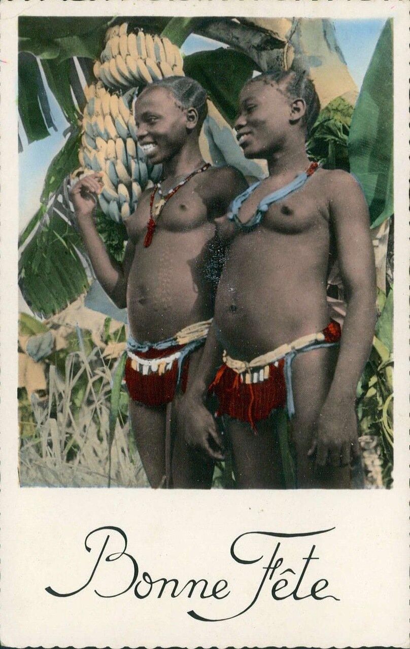 1950-е. Девушки из Анголы