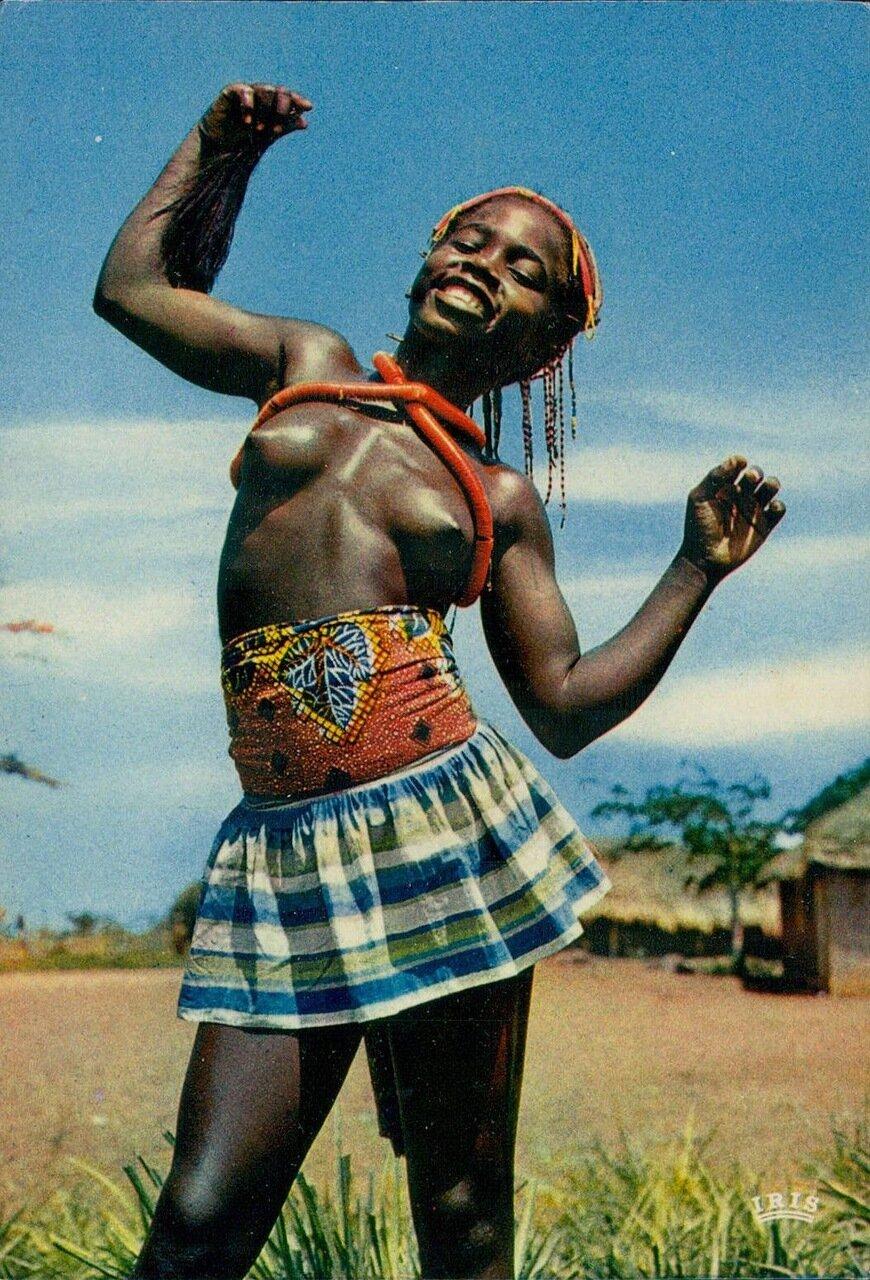 1960-е. Молодая танцовщица