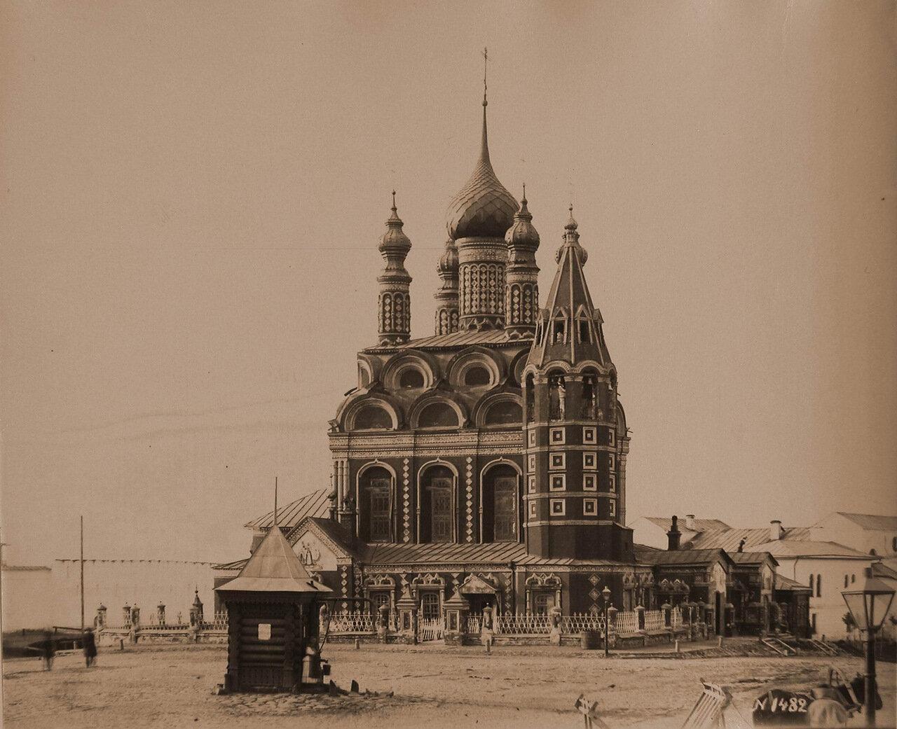 Вид северного фасада церкви Богоявления