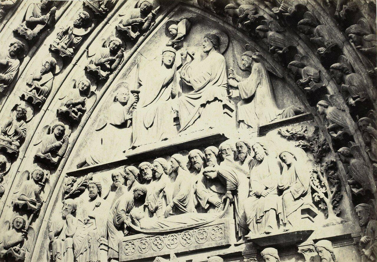 07. Тимпан портала Богородицы