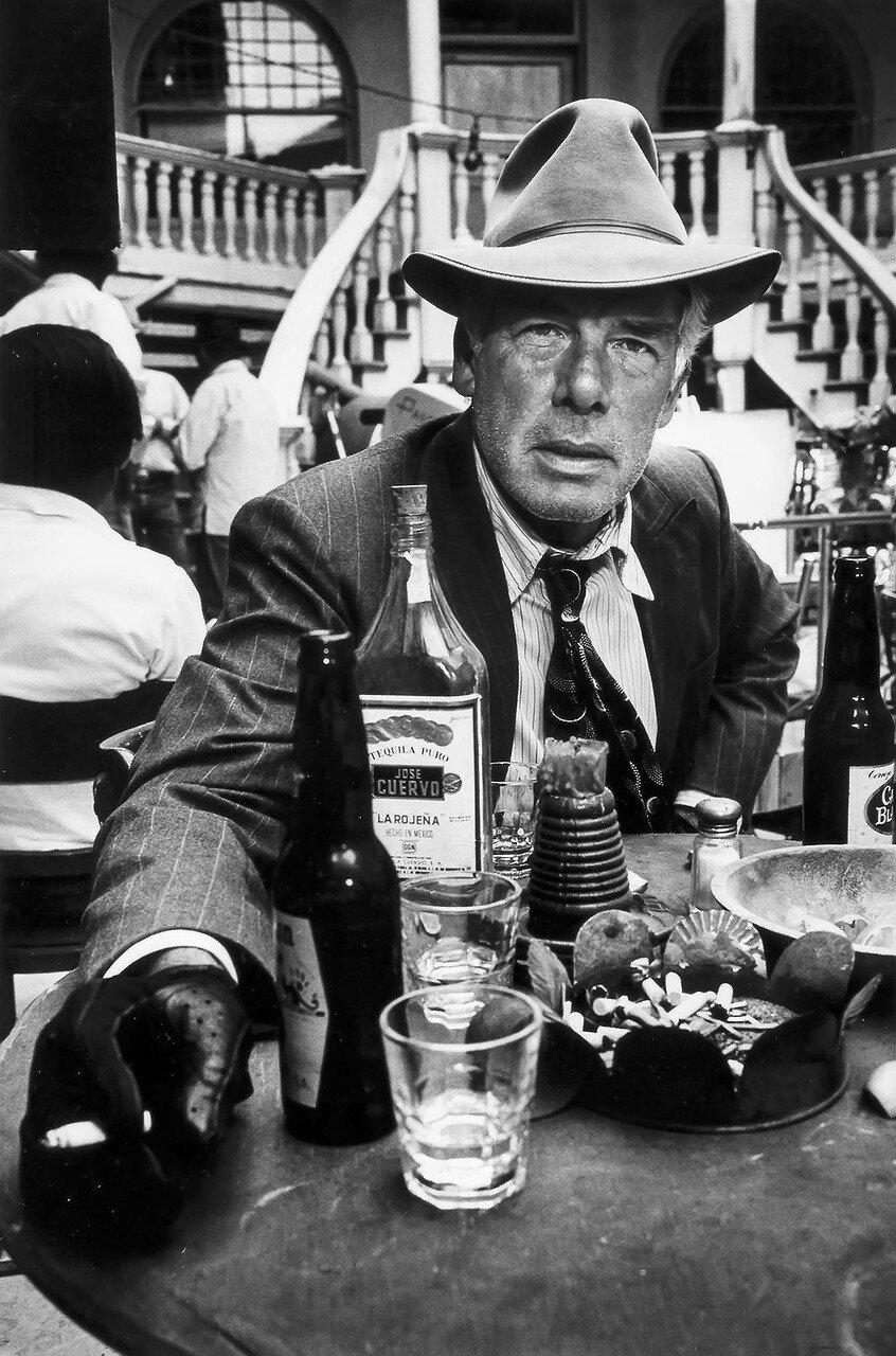 1971. Ли Марвин на съемках фильма «Карманные деньги». Тусон, Аризона