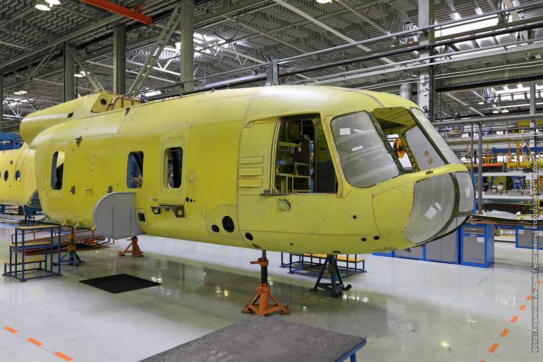 фюзеляж вертолета Ми-8