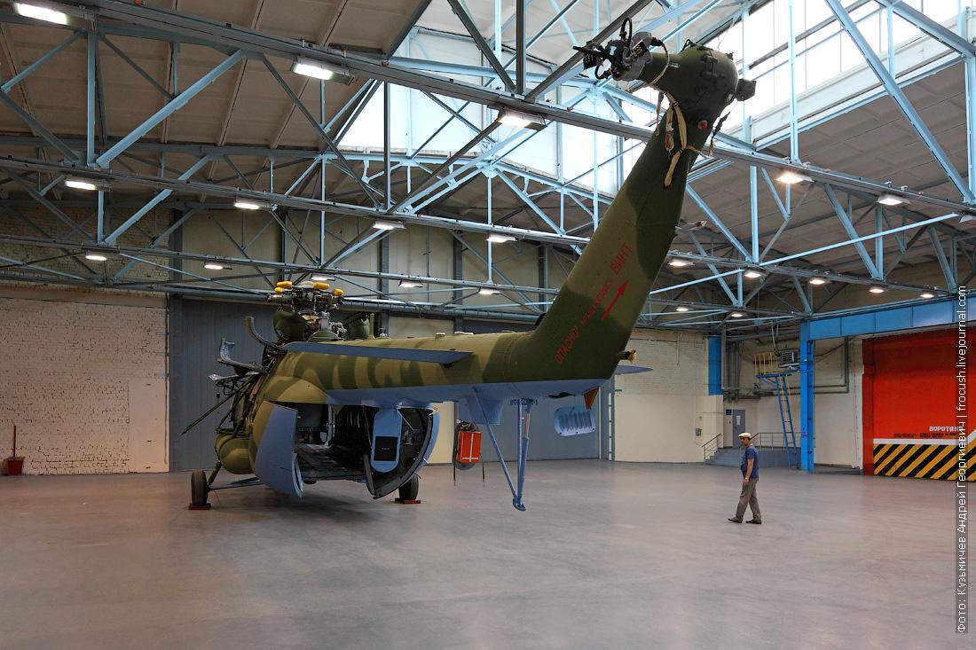вертолет Ми-17 фото на вертолетном заводе