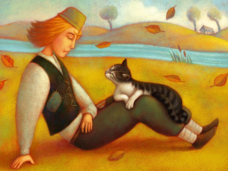 чешская народная сказкао коте в ботинках микеше губки маленьких