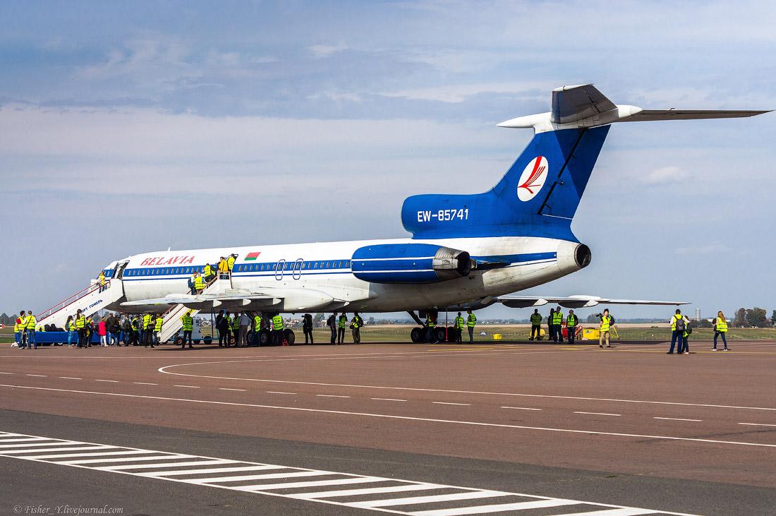 Ту-154: Полёт ради полёта 2016. Фото: fisher-y.livejournal.com