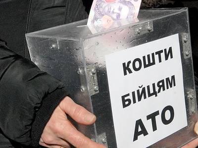 На Львовщине пьяный похитил ящик для пожертвований бойцам АТО