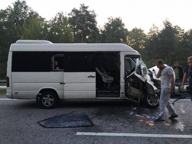 ТНМК попали в аварию (фото)