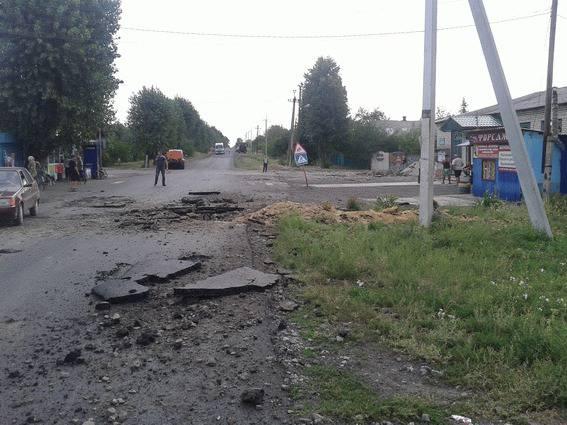 Вчерашние танковые, минометные и артиллерийские обстрелы со стороны боевиков были сильнейшими со времен битвы за Дебальцево, - спикер АТО. ФОТО+Карта