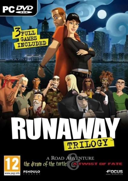[Антология] Runaway (Runaway: A Road Adventure, Runaway 2: The Dream of the Turtle, Runaway: A Twist of Fate) [L] [RUS/RUS] (2001-2009)